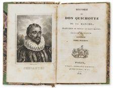 Small books.- Cervantès Saavedra (Miguel de) Histoire de Don Quichotte de la Manche, 8vol., …