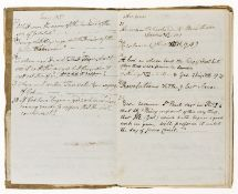 Children's Religious.- , Questions [and Answers] by M. F., [19th century]; and another manuscript …