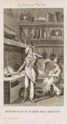 Cookery.- Albert (B.) L'art du cuisinier parisien, ou Manuel complet d'économie domestique, …