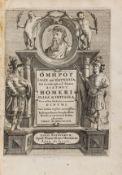 Homer. Ilias et Odyssea. Et in eadem scholia, sive interpretatio Didymi, Leiden, Hack, 1656; and a …