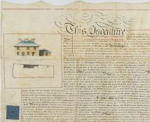 London.- St John's Wood Development.- Eyre (Walpole) Indenture lease of a piece of land and a …