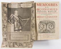 Sully (Maximillian de Béthune, Duc de) Memoires ou oeconommies royales d'estat domestiques, 2 vol. …
