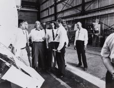 Mercury Astronauts.- The Mercury Seven, c.1959-62, 16 vintage gelatin silver prints, most …