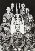 Gemini.- A group of studies of astronauts including Schirra, Shepard, Lovell, Borman, McDivitt …