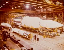 ** Rockets.- The Saturn C-1, Redstone / Mercury and Juno rockets at Huntsville, Alabama, February