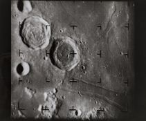 Moon.- Four Lunar Surface views taken by the automatic cameras on Ranger VII and Ranger VIII, …