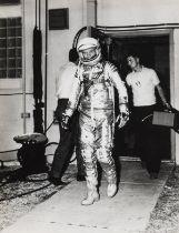 Gemini.- A group of studies of astronauts including Aldrin, Cernan, Grissom, 1960, vintage …