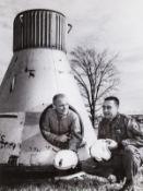 Mercury Astronauts.- The Mercury Seven, c.1959-62, vintage gelatin silver prints (16)