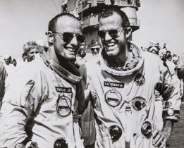 Gemini Astronauts.- A varied group including portraits of Thomas Stafford, Eugene Cernan, Russell …
