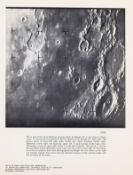 Moon.- Views from Ranger VII, 31 July 1964; Views from Ranger IX, 24 March 1965, vintage …