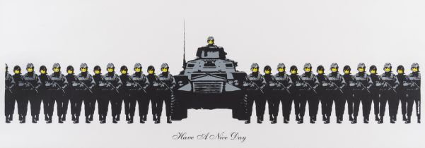 Banksy (b.1974) Have a Nice Day
