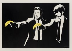 Banksy (b.1974) Pulp Fiction