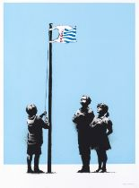 Banksy (b.1974) Very Little Helps (Signed)