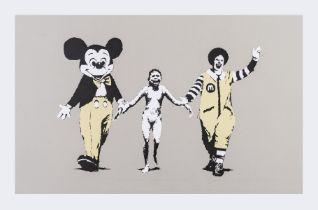 Banksy (b.1974) Napalm