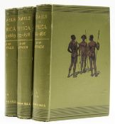 Africa.- Junker (Dr. Wilhelm) Travels in Africa during the years 1875-1878 [1878-1883; …