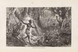 Africa.- Roosevelt (Theodore).- Read (W.W.) Savage Africa, first U.S. edition, New York, 1864.