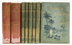 Africa.- Africa and its Exploration as told by its Explorers, 6 vol., [1891]; and a 2 vol. …