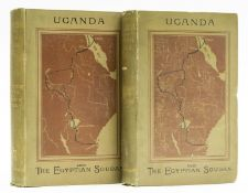 Africa.- Wilson (Rev. C. T.) Uganda and the Egyptian Soudan, 2 vol., first edition, 1882.