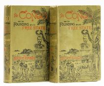 Africa.- Stanley (Henry Morton) The Congo and the Founding of its Free State, 2 vol., first …