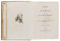 Africa.- Burckhardt (John Lewis) Travels in Nubia, second edition, 1822.