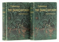 Africa.- Stanley (Henry Morton) Through the Dark Continent, 2 vol., first American edition, New …