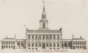 America.- Heap (George), after. A View of the State House in Philadelphia, [1752]