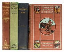 Africa.- Moore (J.E.S.) To the Mountains of the Moon, first edition, 1901; and 3 others also on …