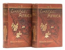 Africa.- Stanley (Henry Morton) In Darkest Africa, 2 vol., first edition, 1890.