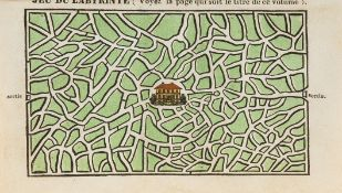 Games & Puzzles.- Grimm (Georg) Neuestes Spielbuch..., Leipzig, 1840 & others, French, on games …