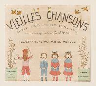 Widor (Ch. M.) Vieilles Chansons pour les Petits Enfants, colour illustrations by M.B. de Monvel, …