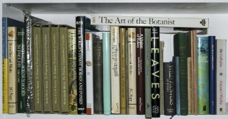Rix (Martyn) The Art of the Botanist, Guildford & London, 1981 & others on natural history (c.30)