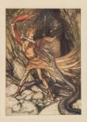 Rackham (Arthur).- Wagner (Richard) The Rhinegold & the Valkyrie, 1910 & others illustrated by …