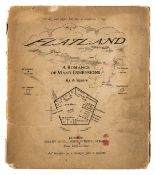 Abbott (Edwin A.) Flatland, A Romance of Many Dimensions, first edition, 1884.
