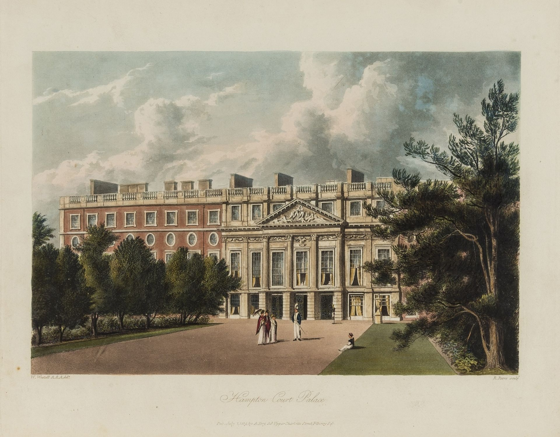 England.- Pyne (William Henry) The History of the Royal Residences..., 3 vol., first edition, … - Image 3 of 3