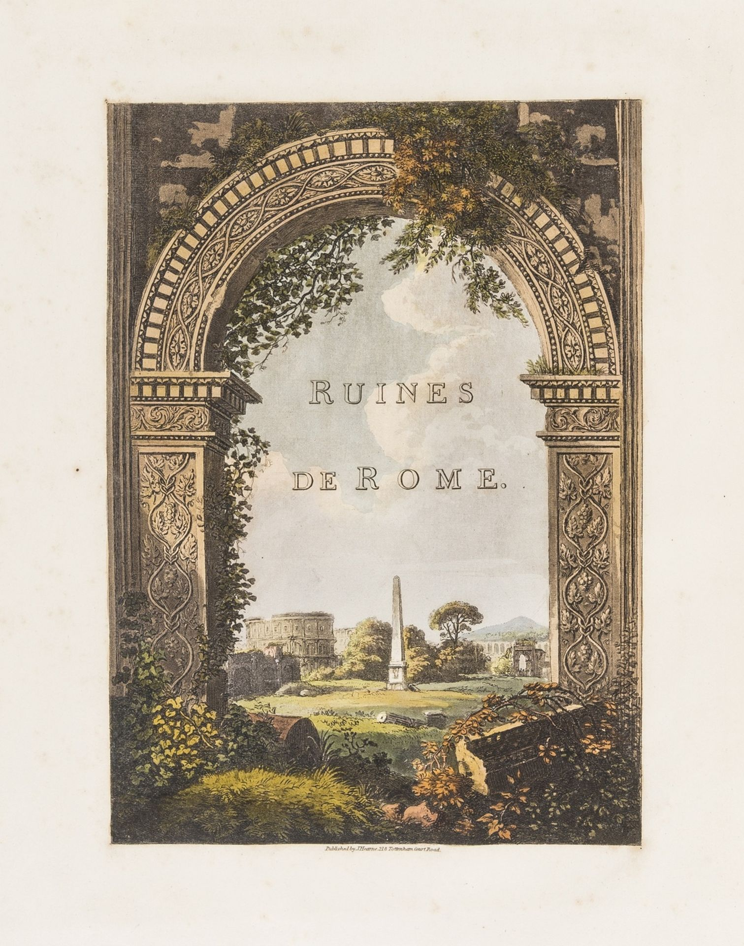 Italy.- [Merigot (James)] A Select Collection of Views and Ruins in Rome and its Vicinity, [c.1819].