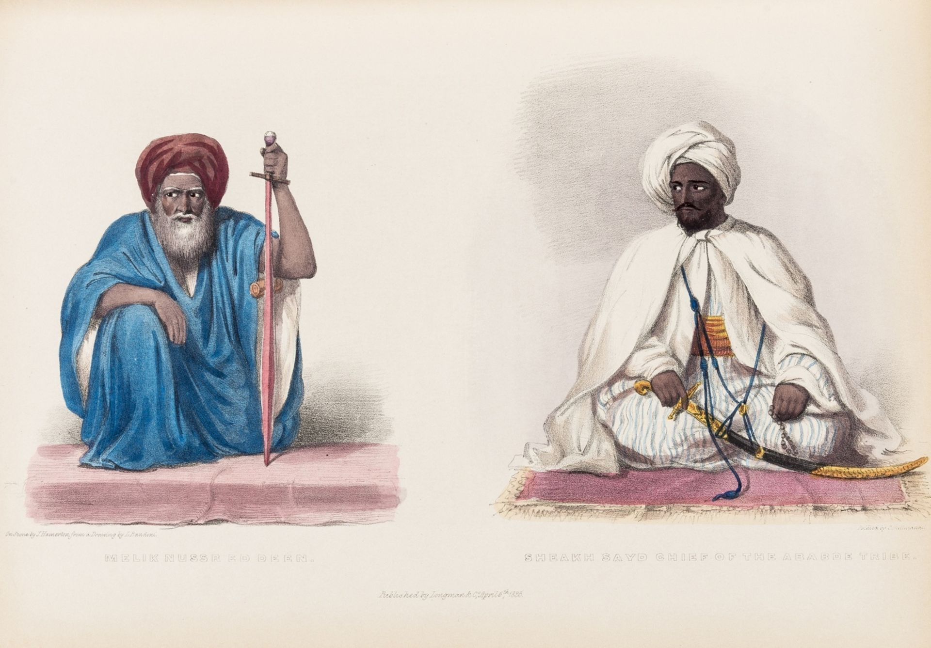 Africa.- Hoskins (G. A.) Travels in Ethiopia, above the Second Cataract of the Nile, first … - Image 2 of 2