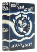 Huxley (Aldous) Brave New World, first edition, with dust-jacket, 1932.