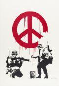 Banksy (b.1974) CND (Signed)