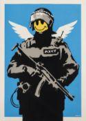 Banksy (b.1974) Flying Copper (Signed)