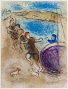 Marc Chagall (1887-1985) Les Jeunes gens de Methymne (Cramer Books 46, Mourlot 324)