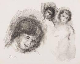 Pierre-Auguste Renoir (1841-1919) La Pierre au Trois Croquis (Delteil 41, Stella 41)