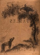 Marc Chagall (1887-1985) Title Page for La Fontaine Fables