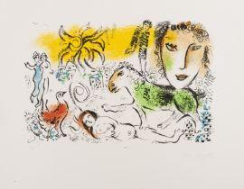 Marc Chagall (1887-1985) Monumental (Mourlot 699)