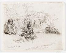 Rembrandt van Rijn (1606-1669) The Bathers