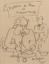 Jean Cocteau (1889-1963) Frederic Ibsen et le Canard Sauvage