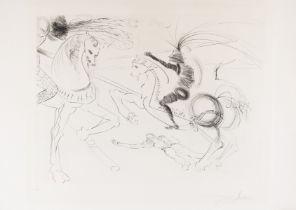 Salvador Dalí (1904-1989) Rout at San Germano (Field 72-10)
