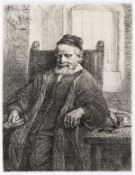 Rembrandt van Rijn (1606-1669) Jan Lutma, Goldsmith