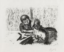 Pierre Bonnard (1867-1947) La Lettre (Bouvet 98)