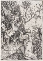 Albrecht Dürer (1471-1528) Joachim and the Angel, from: The Life of the Virgin