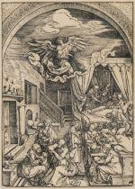 Albrecht Dürer (1471-1528) The Birth of the Virgin, from: The Life of the Virgin